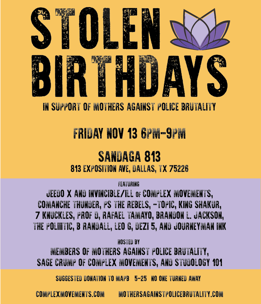 """Stolen Birthdays"""" and """"Fused Lens"""" kick off community event series"""