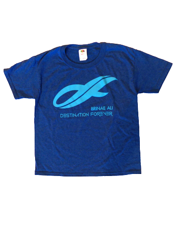 "Brinae Ali ""Destination Forever"" T-shirt"