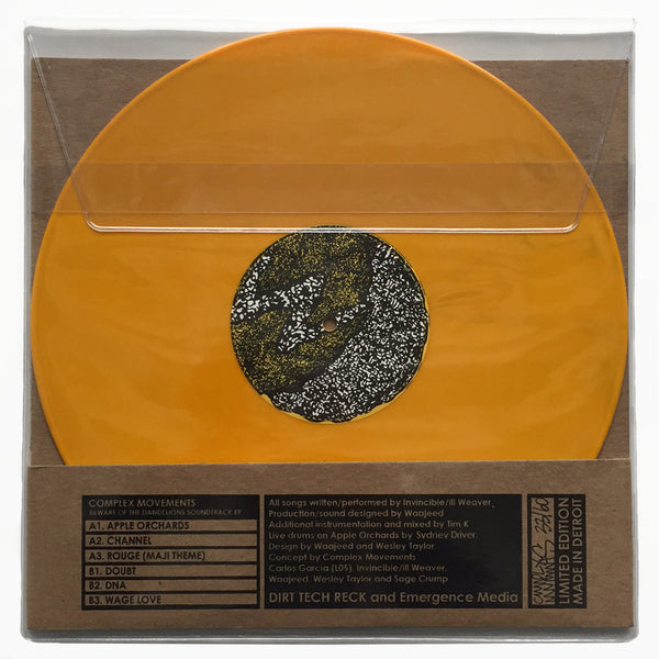 Beware Of The Dandelions Soundtrack Limited Edition Vinyl EP (Pre-Sale)