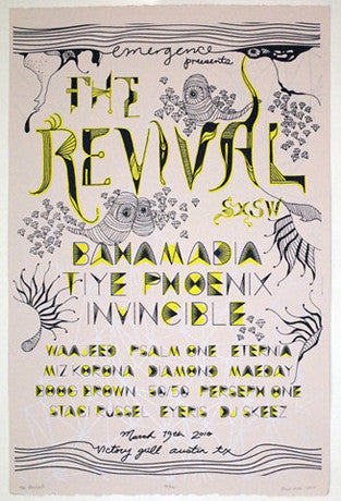 """The Revival"" showcase poster"