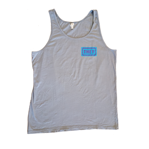 They/Them Loose Fit Tank Top