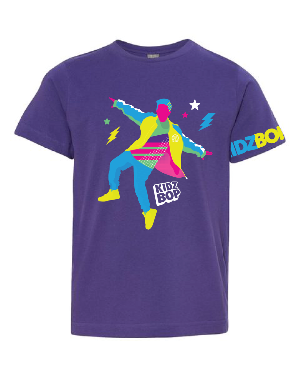 KIDZ BOP Pop Star Silhouette Youth Tee (Solo)
