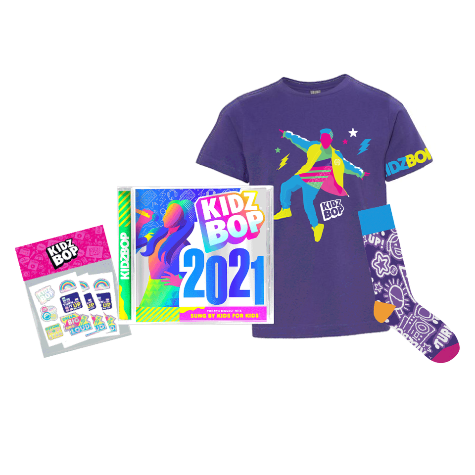KIDZ BOP 2021 Awesome Bundle