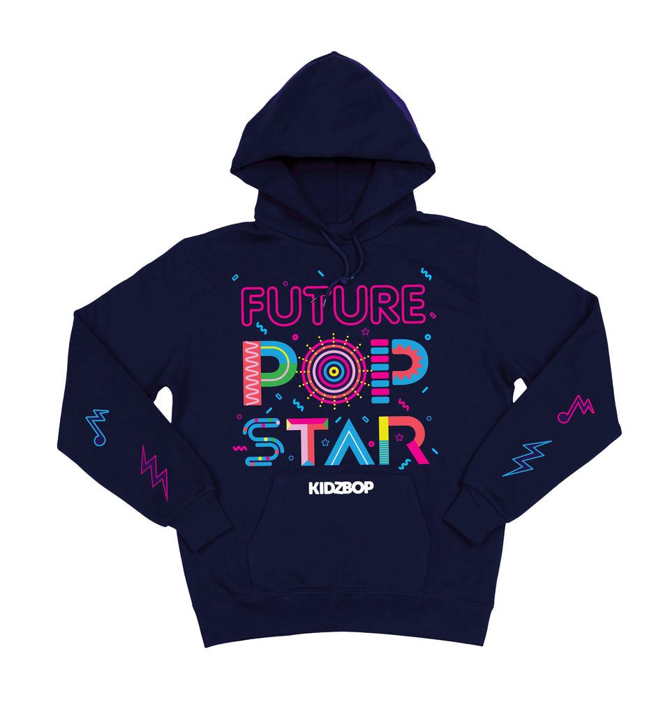 Future Pop Star Navy Youth Hoodie
