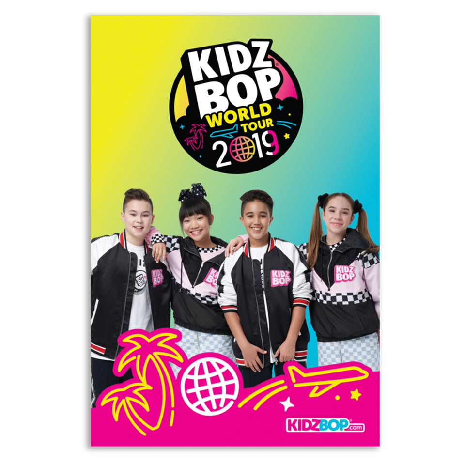 KIDZ BOP World Tour 2019 Poster