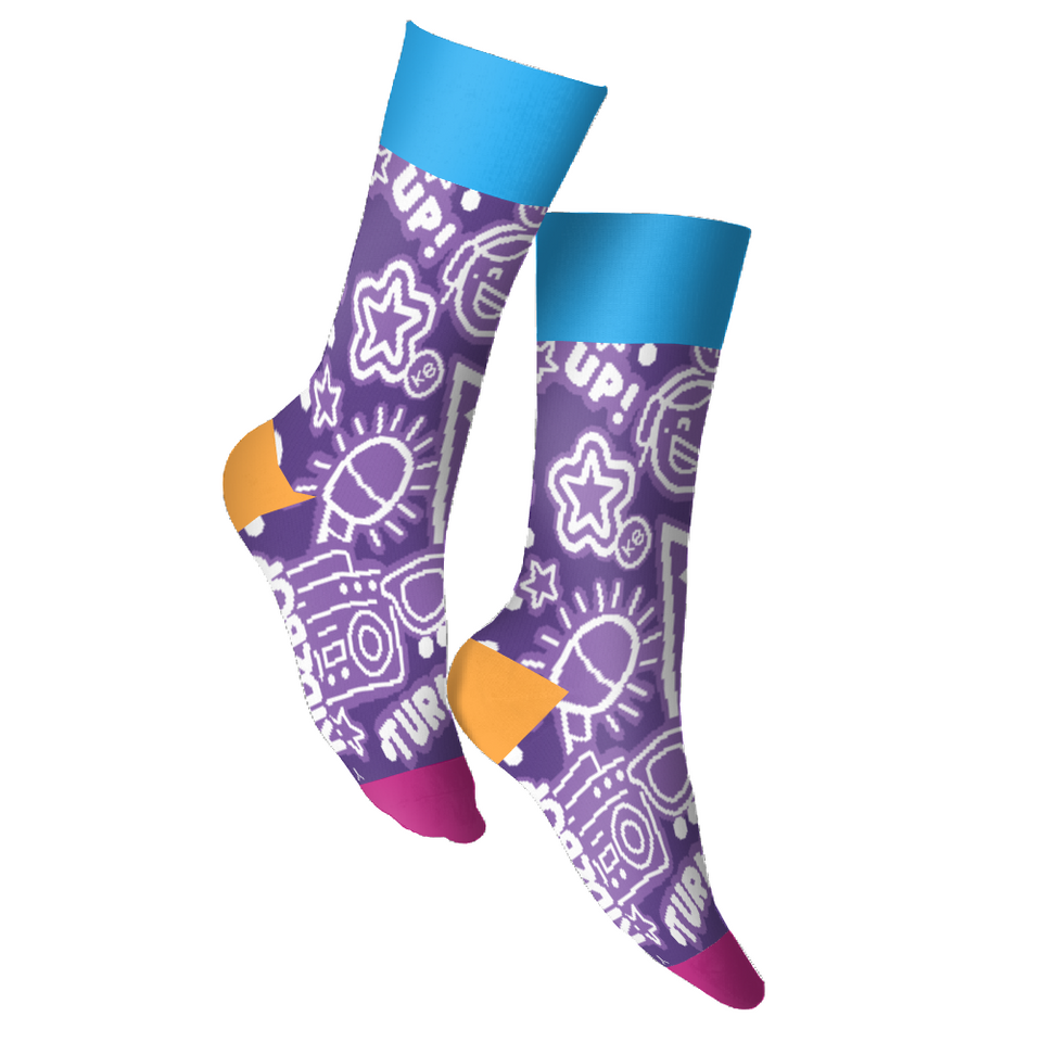 KIDZ BOP Pop Star Youth Socks