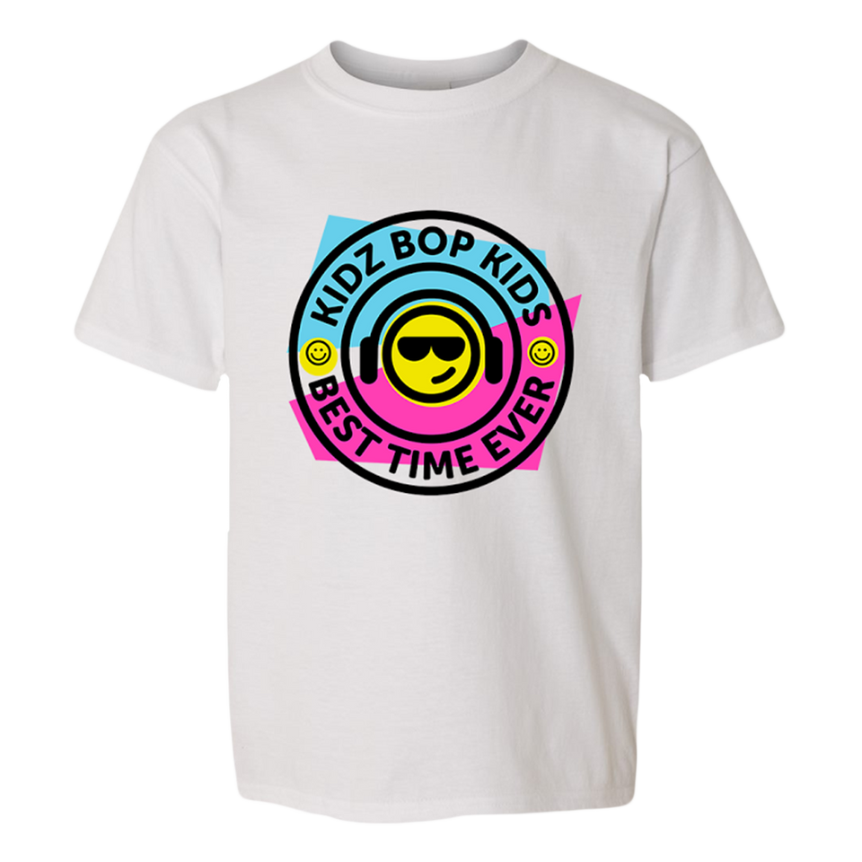 Smiley Headphones Youth Tee
