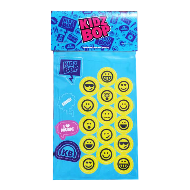 KIDZ BOP Sticker Set