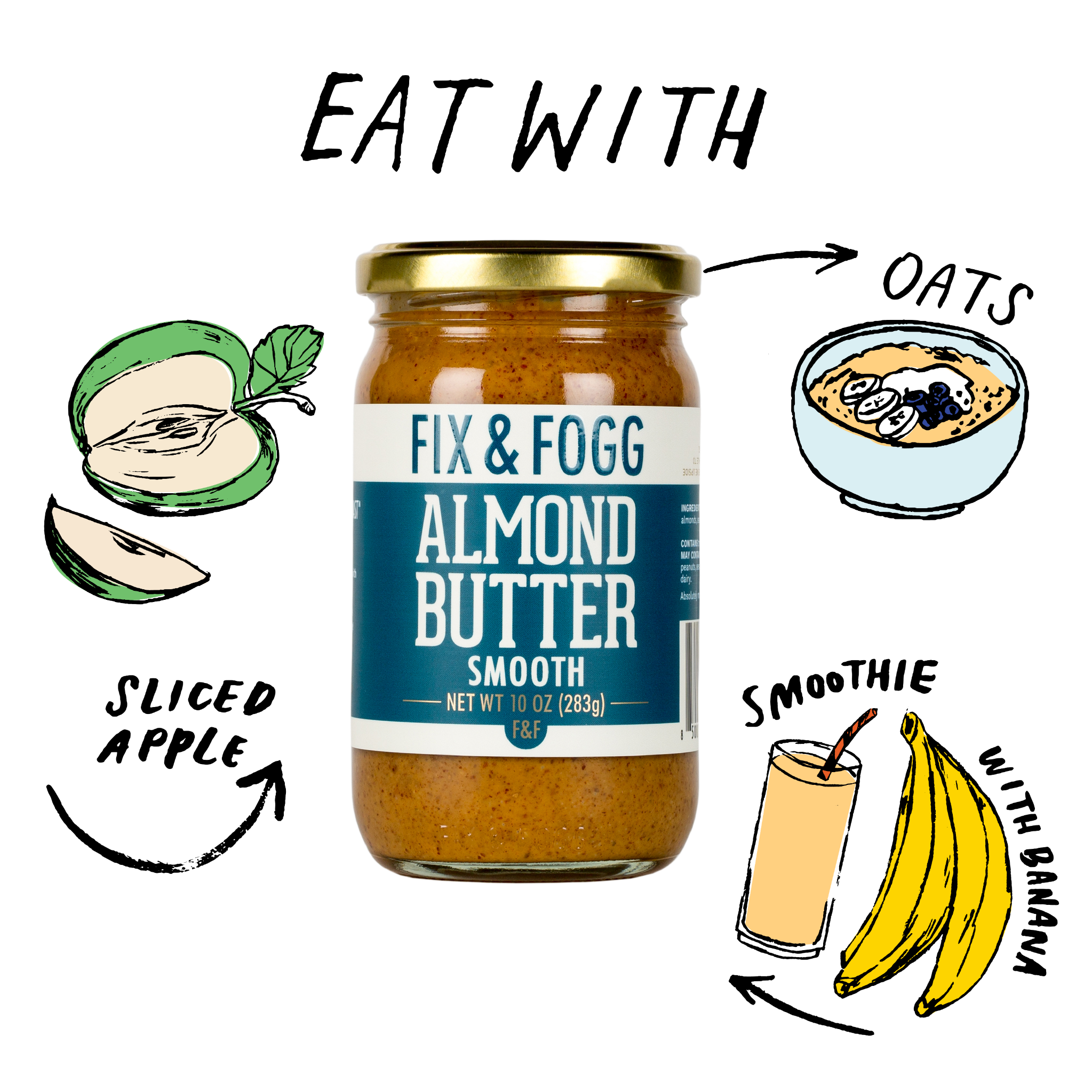 Eat with Smooth Almond