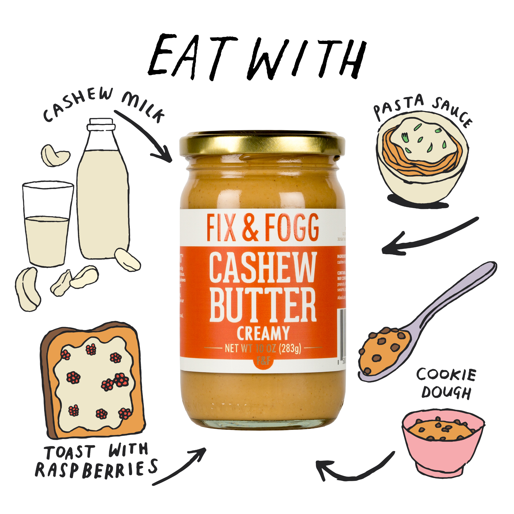 Eat with Cashew Butter