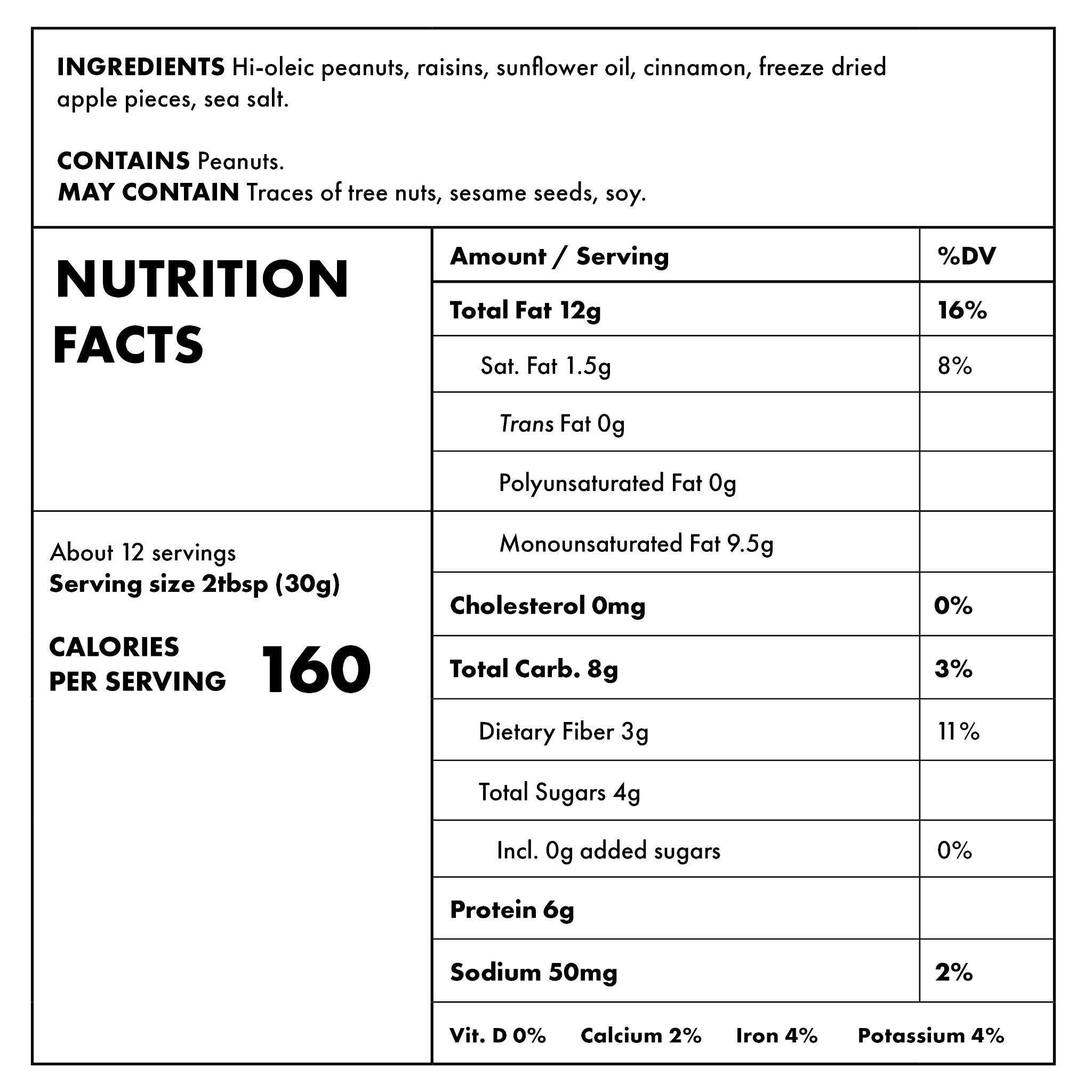 Fruit Toast Nutritional Information