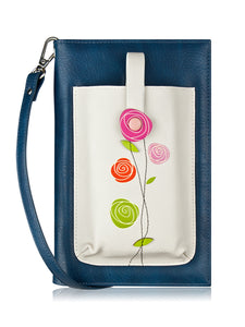 Roses iSmart Purse Grey