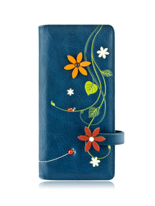 Dandi long wallet blue