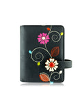 Vine small wallet black