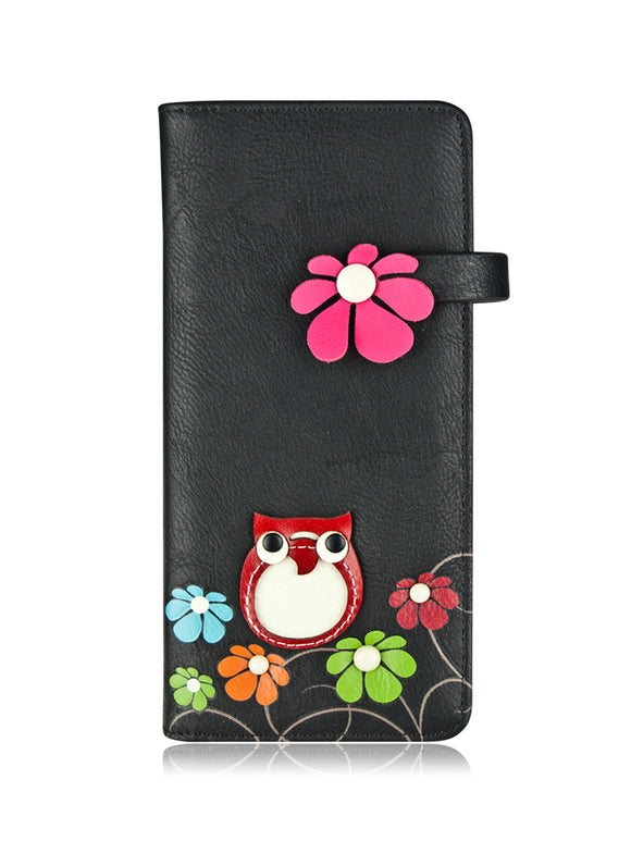 Motto long wallet black