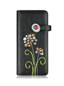 Scent long wallet black