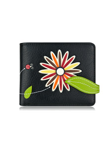 Lira Small Wallet Black