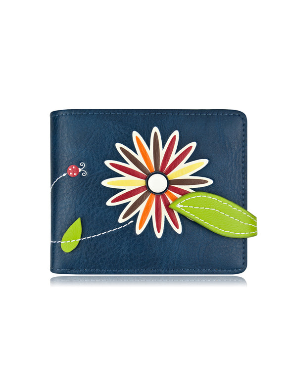 Lira Small Wallet Blue