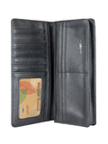long wallet inside