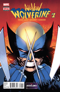 All-New Wolverine #1 First X-23 as Wolverine (2015)