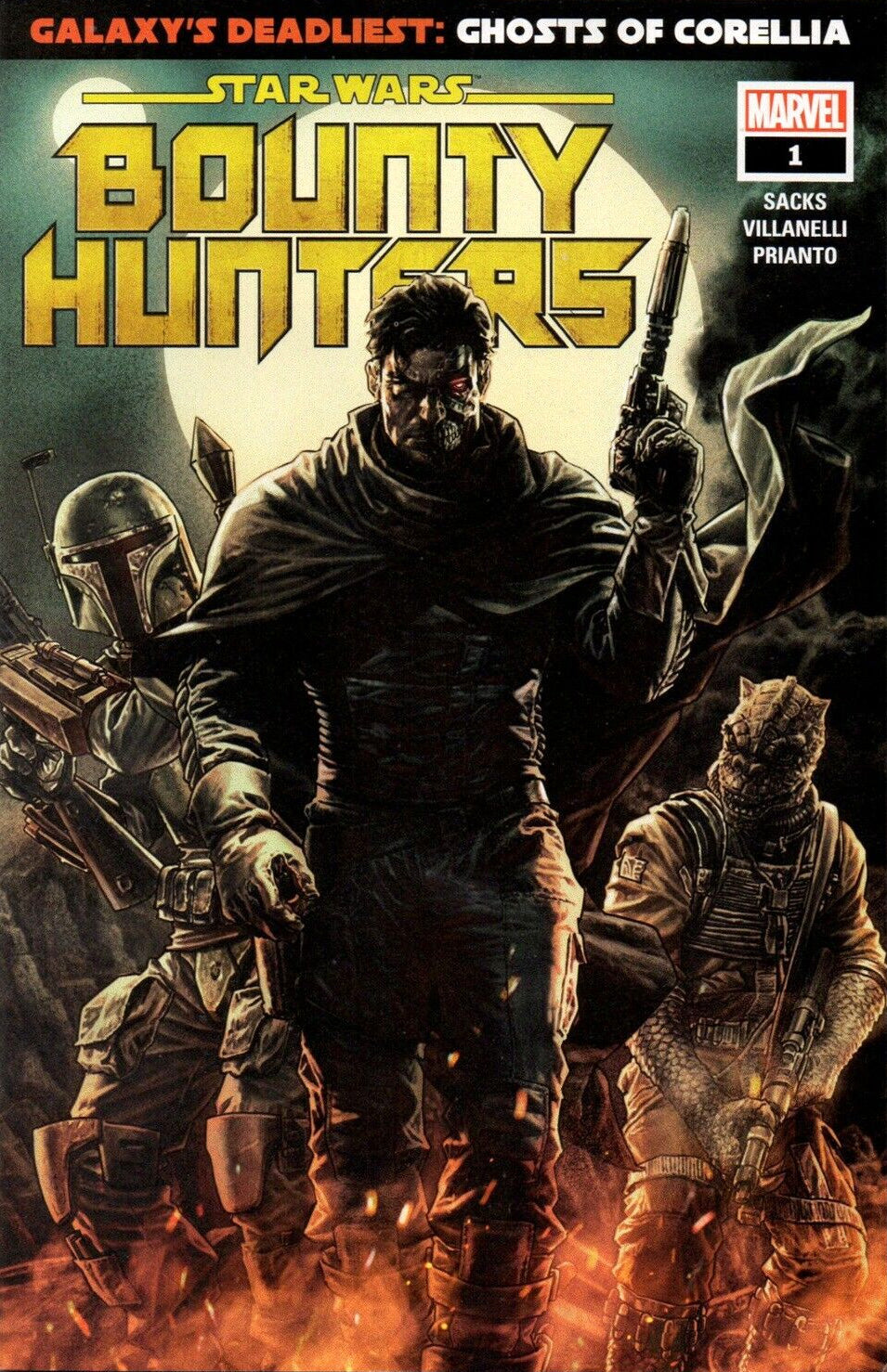 Star Wars Bounty Hunters #1 Walmart Variant (2020)