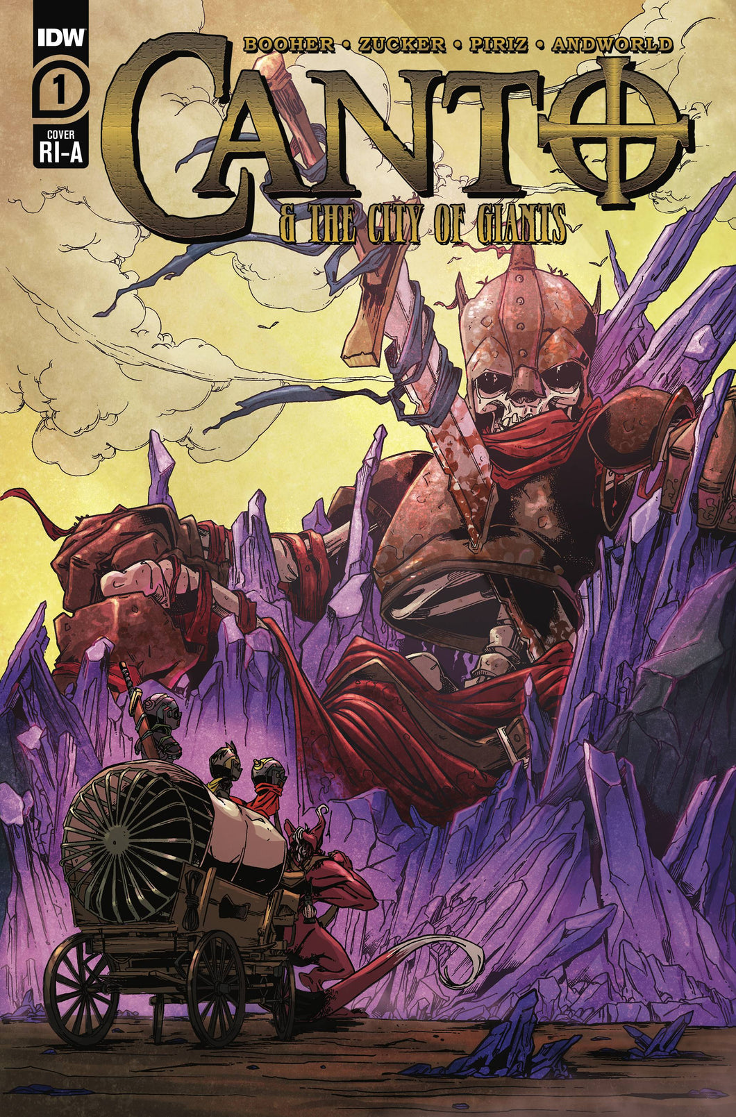 Canto & The City of Giants #1 1:10 Zucker Variant (2021)