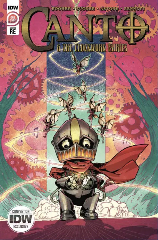 Canto & The Clockwork Fairies SDCC Comic-Con Exclusive Variant (2020)