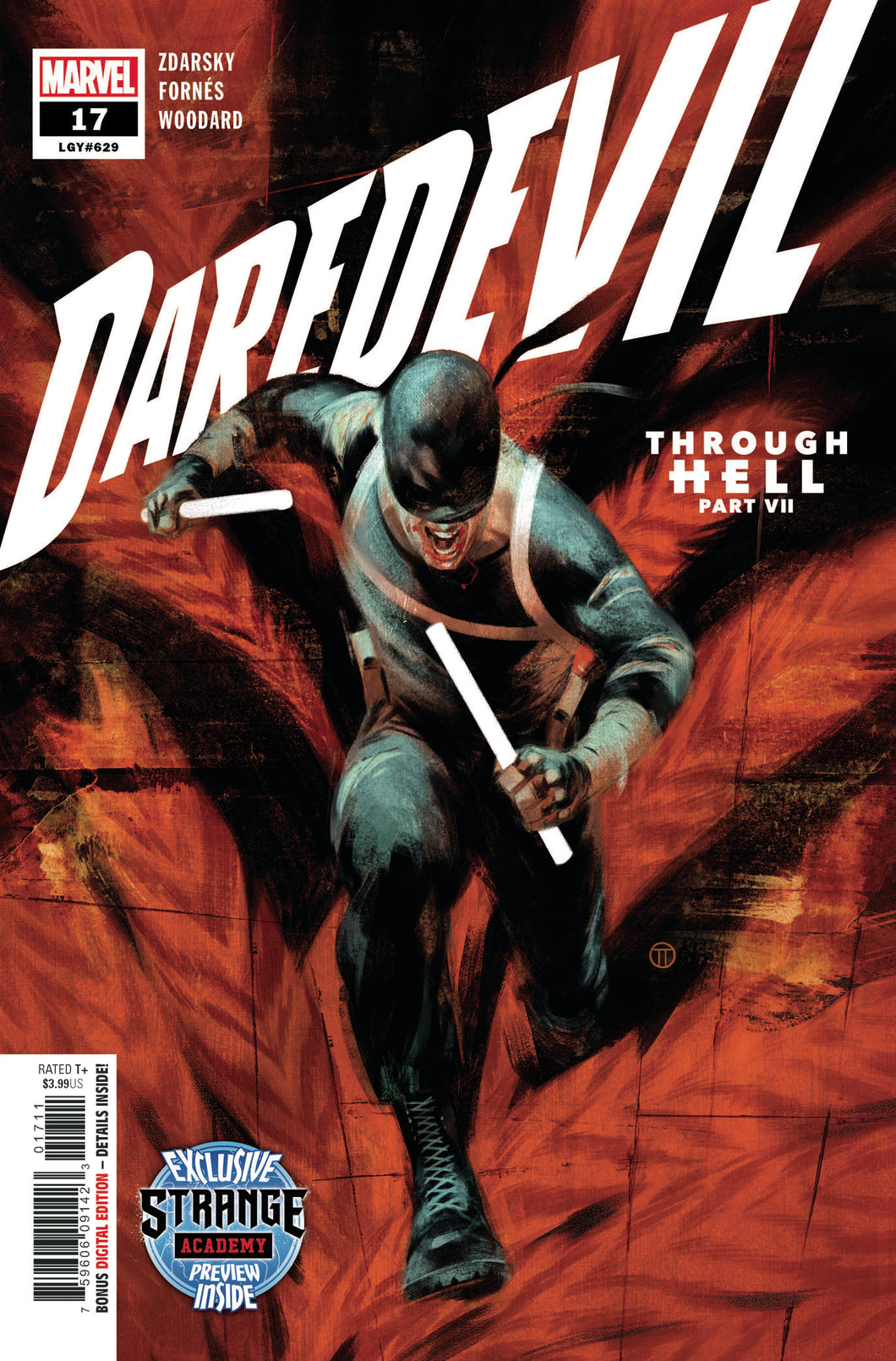 Daredevil #17 Chip Zdarsky Strange Academy Preview (2020)