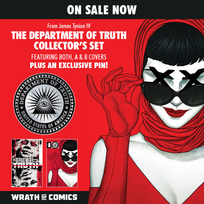 The Department of Truth #1 Collector's Set James Tynion IV (2020)
