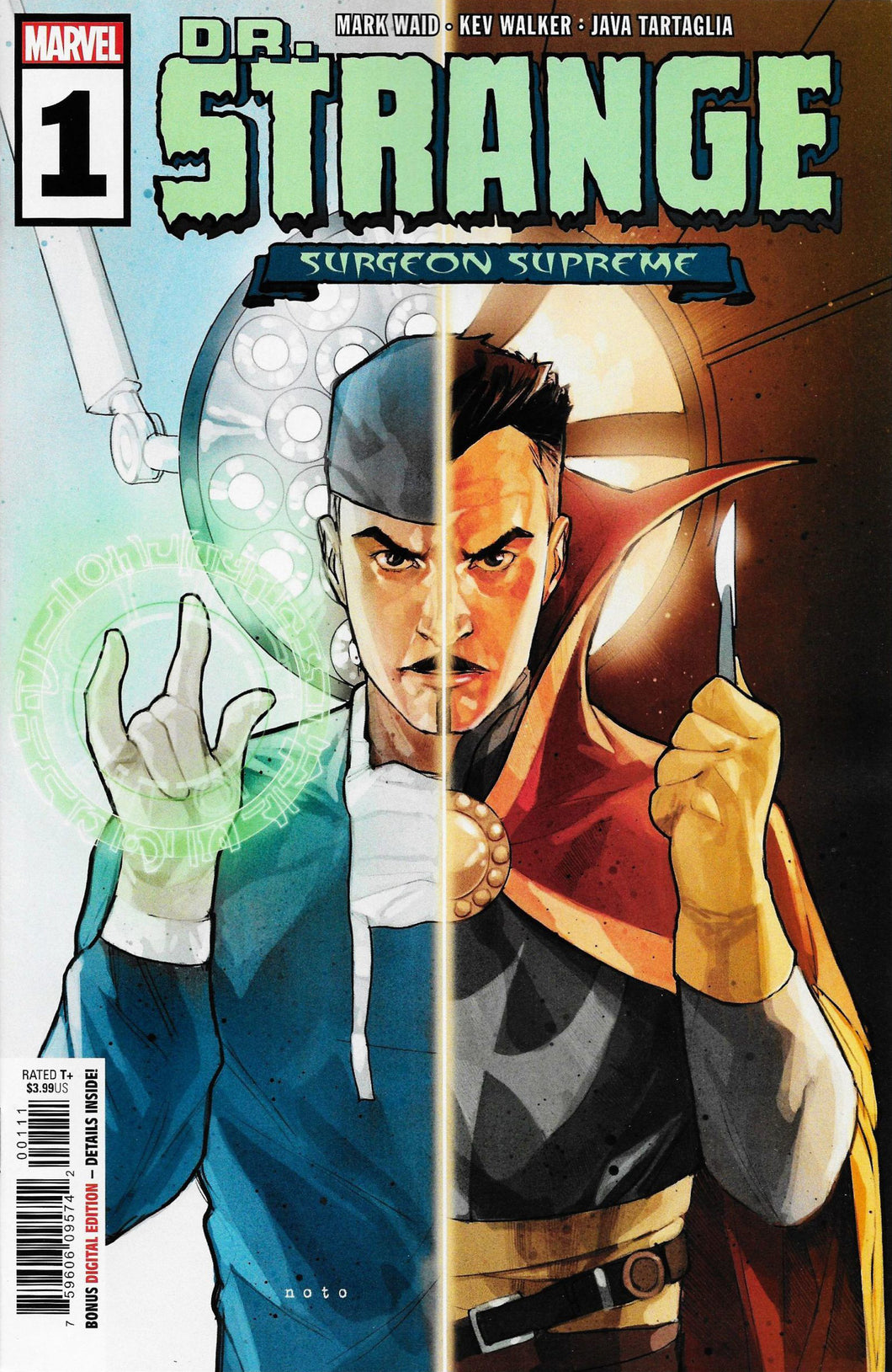 Dr Strange Surgeon Supreme #1 Secret Magic Hand Variant (2019)