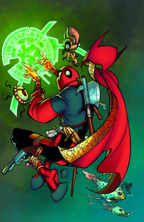 Doctor Stranger #390 Deadpool Virgin Variant (2018)