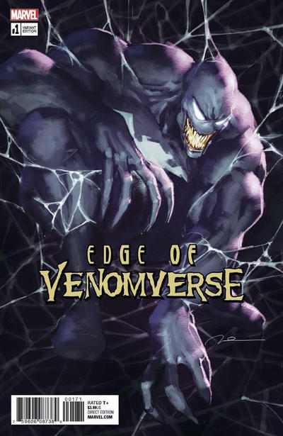 Edge of Venomverse #1 Gerald Parel Variant (2017)
