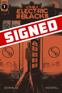 The Electric Black #1 Signed by Schmalke with COA (2019)