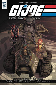 GI Joe A Real American Hero #250 Mateus 1:15 Retailer Incentive (2018)