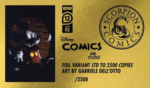Load image into Gallery viewer, Disney Comics & Stories #13 Dell'Otto Gold Foil Virgin Variant (2020)