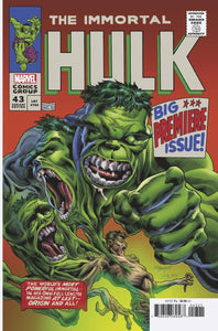 Immortal Hulk #43 Bennett Homage Variant – RECALLED (2021)