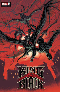 King In Black #1 Stegman Darkness Reigns Variant (2020)