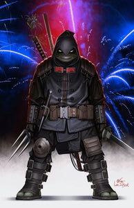 TMNT The Last Ronin #1 Inhyuk Lee Independence Day Variant (2020)