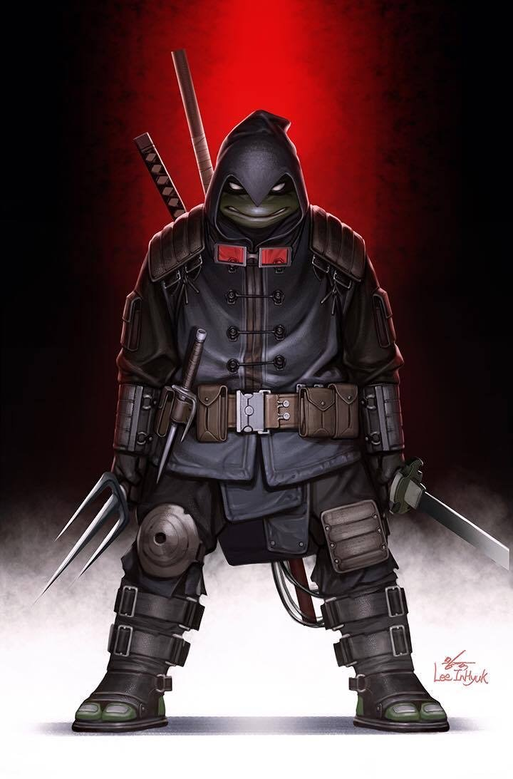 TMNT The Last Ronin #1 Inhyuk Lee Virgin Variant (2020)