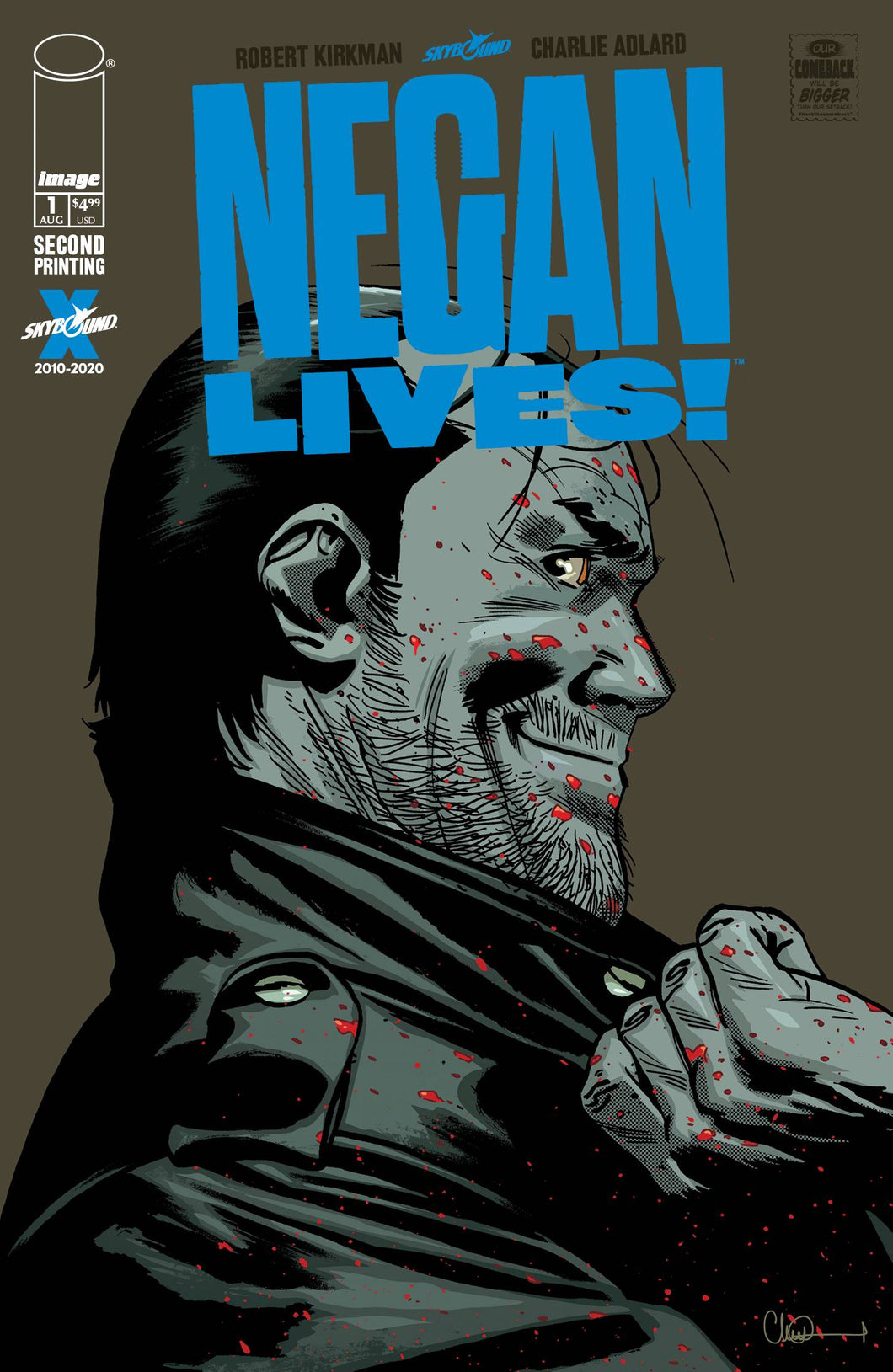 Negan Lives #1 2nd Print (2020)