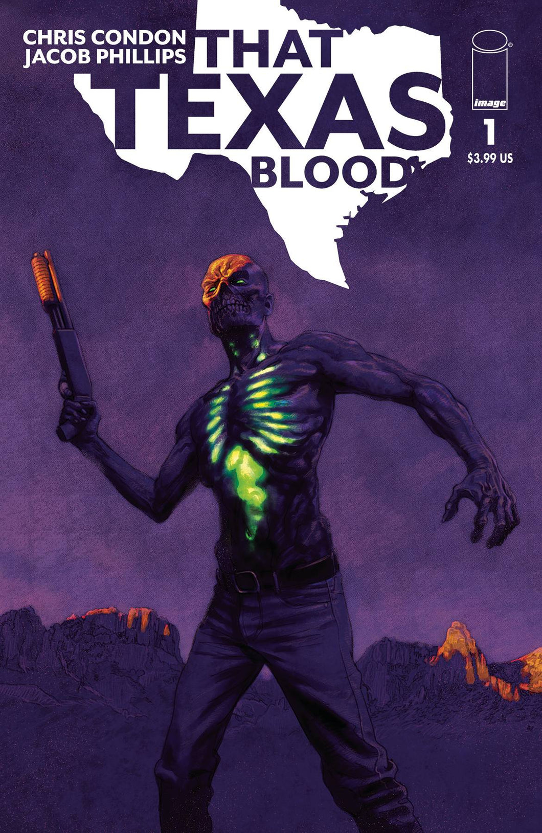 That Texas Blood #1 Sean Phillips Variant (2020)