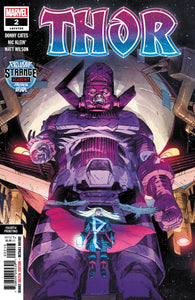 Thor #2 4th Print Klein Donny Cates Black Winter Strange Academy Preview (2020)