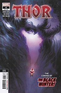 Thor #4 2nd Print Variant Black Winter Donny Cates (2020)