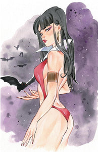 Vampirella #12 Peach Momoko Trade & Virgin Variant Set (2020)