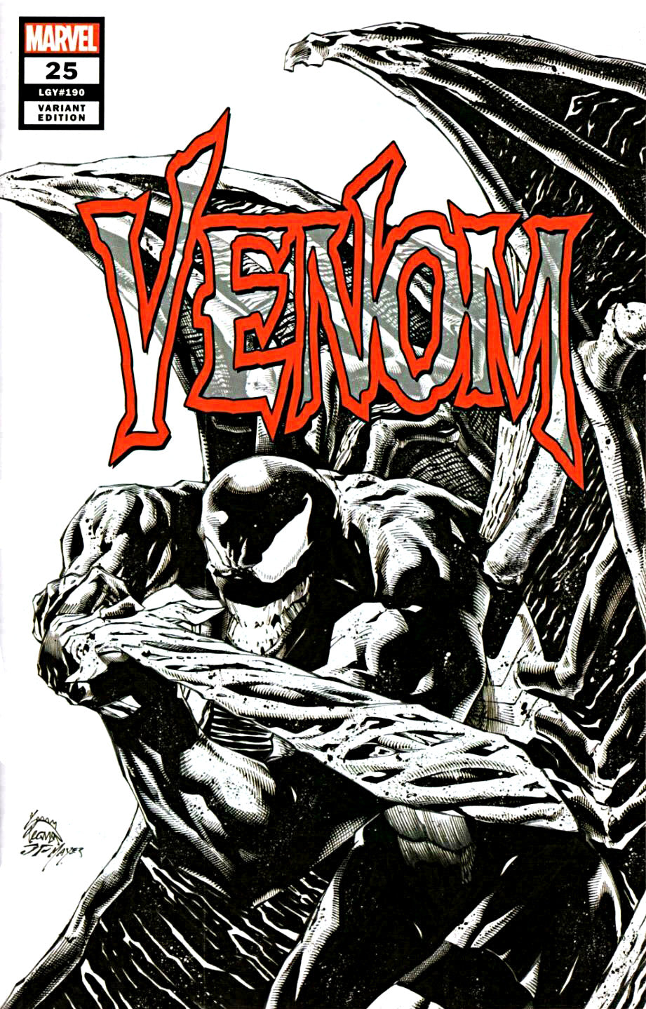 Venom #25 Retailer Summit PX Variant - First Virus (2020)