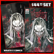Load image into Gallery viewer, Venom #27 Exclusive Peach Momoko Knull Trade & Virgin Variant Set (2020)