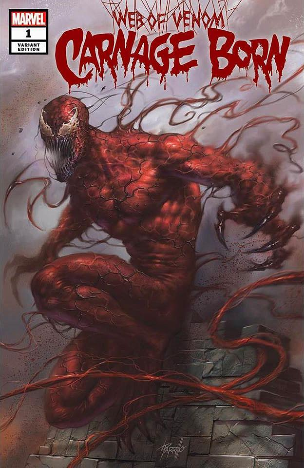 Web of Venom Carnage Born #1 Parrillo Variant (2018)