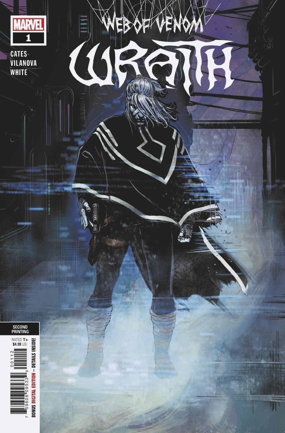Web of Venom Wraith #1 2nd Print (2020)