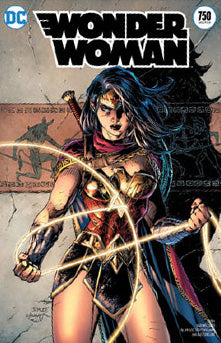 Wonder Woman #750 FOIL Convention Exclusive Jim Lee Variant (2020)