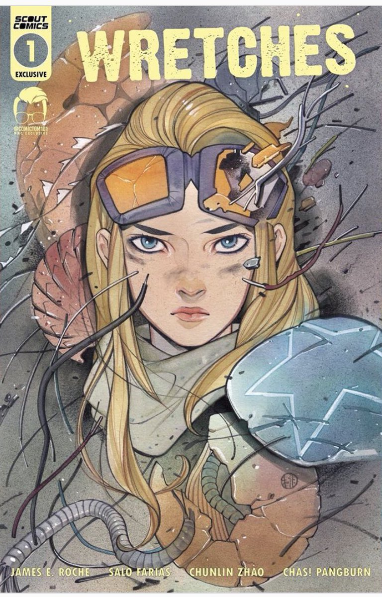 Wretches #1 Peach Momoko Comic Tom Exclusive Variant (2020)